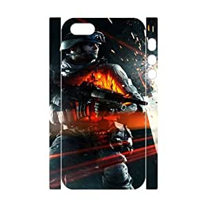 bf3 close quarters iphone 5 5s Cell Phone Case 3D White yyfD-226579