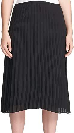 DKNY falda plisada para mujer