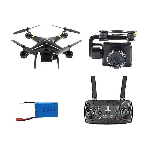 GW168 RC Drone GPS Drones con 1080P Cámara WiFi FPV Aviones RC ...