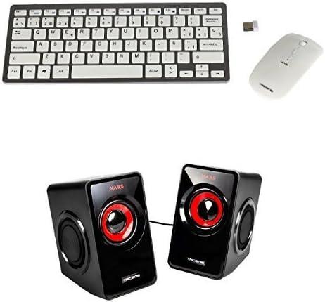 Tacens Levis Combo - Pack de teclado y ratón gaming + Mars Gaming MS1 - Altavoces gaming para PC: Amazon.es: Informática