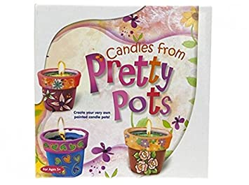 Make Paint Your Own Pot Candles From Pretty Pots Plant Pot Candles