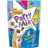 Friskies Party Mix Crunch Beachside Cat Treats 10 oz. Pouch Review
