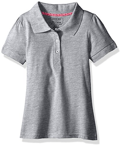 Grey Polo Shirts For Girls