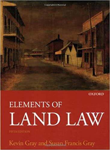 Elements of Land Law: Amazon co uk: Kevin Gray, Susan