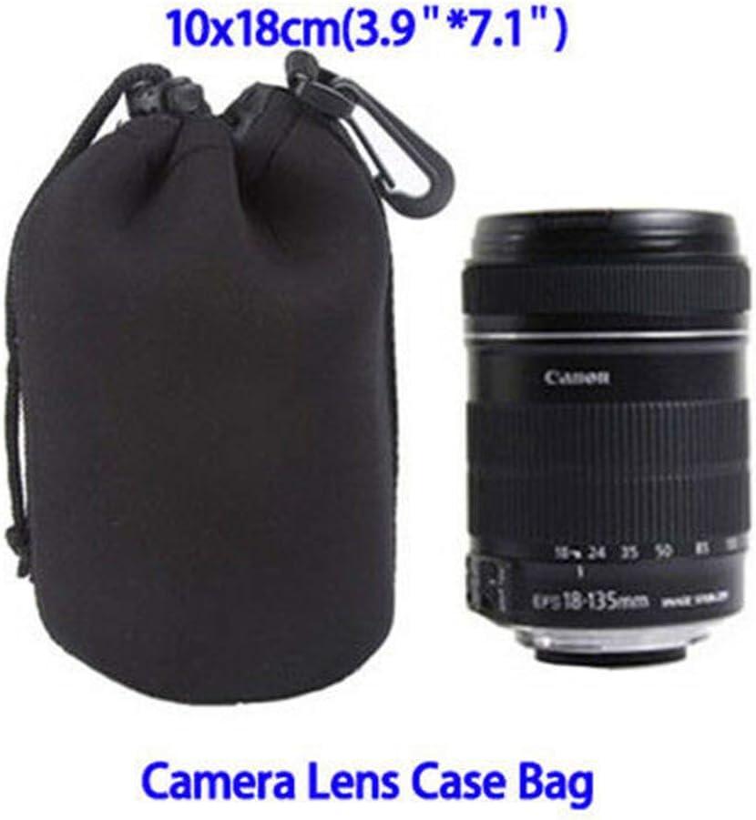 S//M//L//XL Waterproof Neoprene DSLR Camera Lens Soft Protector Pouch Case Bags Set M