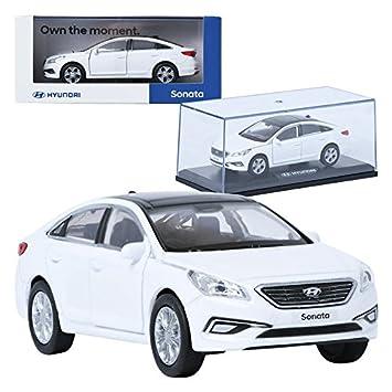 Pino B&D HYUNDAI LF Sonata White 1:38 Display Mini Car Miniature Car