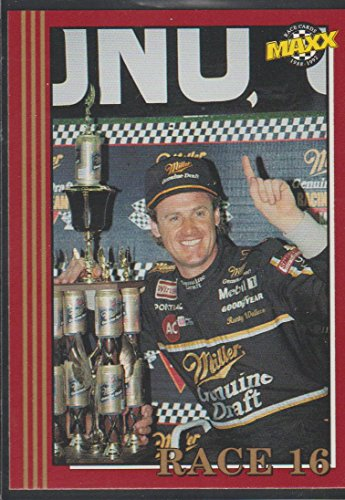 (1992 Maxx Rusty Wallace NASCAR Award Winner Racing Card #280)