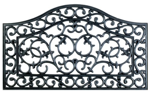Imports Decor Rubber Doormat, Country Gate, 18-Inch by 30-Inch ()