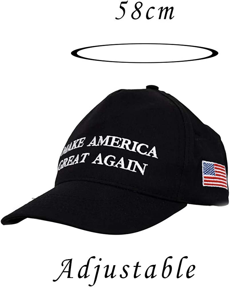 Beito 2020 Donald Trump Red Hat R/é/élection Keep America Great Broderie USA Drapeau Maga New Cap Cotton Baseball Cap Hat