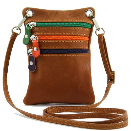 Tuscany Leather - Shoulder Bag For Pigskin Brown Brown Woman