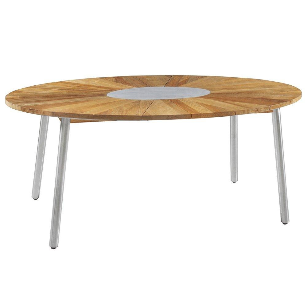 ZEBRA Tisch Convex oval