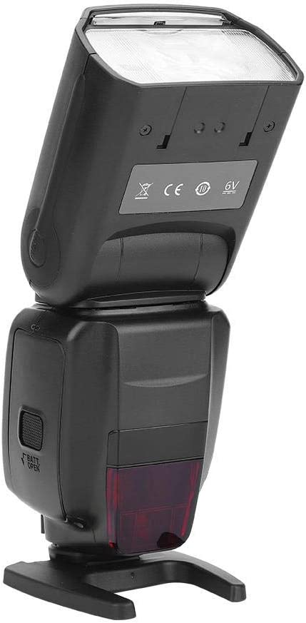 Canon Hot Shoe C fosa Flash Speedlite On-Camera Flash with LCD Panel Display Fill Light for Canon Nikon DSLR Cameras