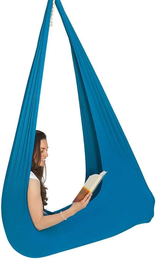 Bettying Swinging Hanging Seat Therapy - Hamaca elástica para interior y exterior