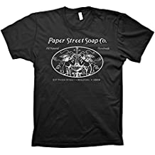 """Paper Street Soap Company """"All Natural, Hand Made"""" -Tyler Durden T-shirt"""