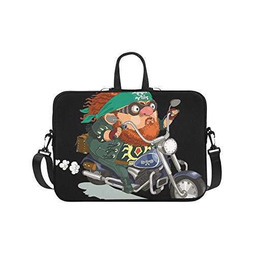 Laptop Computer Sleeves 15 15.2 Inch Motorcycle Knight Neopr