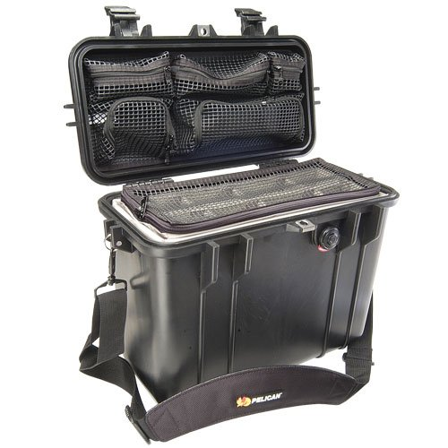 Pelican 1430-004-110 1430 Top Loader Case with Padded Dividers and Lid (Loader Lid)