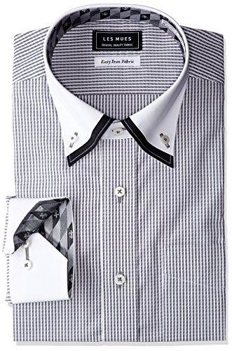 ベーリング海峡がっかりするストッキング[アオキ]二枚衿シャツ メンズ
