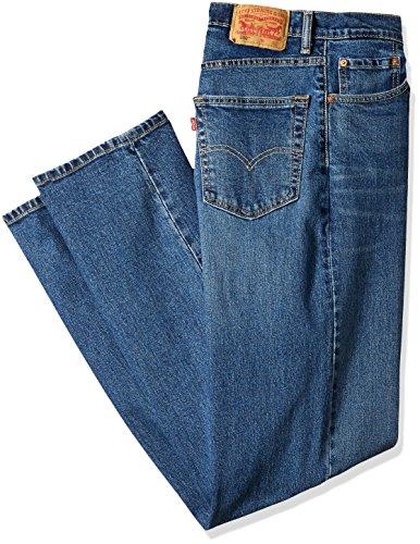 & Tall Relaxed Fit Jean, Rooster-Stretch, 44W x 30L ()