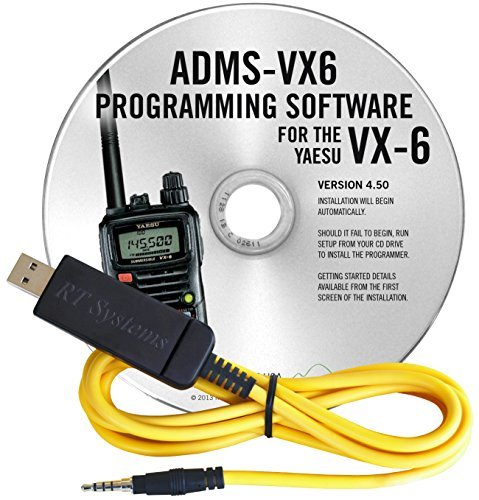 Yaesu VX-6R USB PC Cable & Programming Software