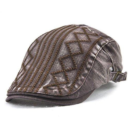 MASTER sombreros tapas Navidad negro damas rhombus sombreros Brown beanie caballeros deportes Tapa twill Halloween fHTrpxfq