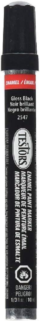 Testor Corp. Gloss Black Paint Marker Enamel Paint Pen