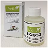 FCG33 Coconut Lipid Lotion for Skin and Hair, 4 Oz., iActive Naturals Coconut Phenol-lipids in Natural Coconut Oil