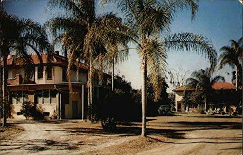 Sarepta Rest Home Silver Lake  Florida Original Vintage Postcard