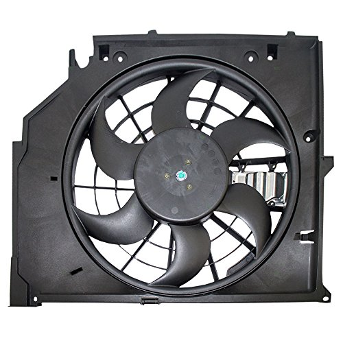 Radiator Cooling Fan Motor Assembly Replacement for BMW 17 11 7 525 (Bmw 2002 Cooling)