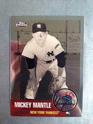 2007 Topps Chrome Mickey Mantle - 2007 Topps Chrome Mickey Mantle Story MMS28 Mickey Mantle NM/M (Near Mint/Mint)