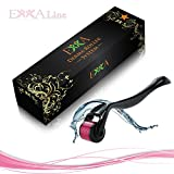 EKKA Line Derma Roller 0.25mm, Microneedling, Cosmetic Needling Instrument For Face.Micro 540 Needles Titanium,Skin Care Tools, ANTI-AGING device for all your skincare,Face Roller, Free Storage Case