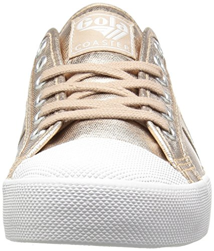 Gola Gold Coaster Metallic Gold Sneaker Fashion Women Rose Rose HTHqwv