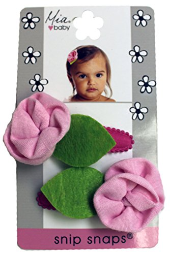 mia-snip-snaps-hair-barrettes-jersey-flowers-assorted-colors-5x3x05-2-count