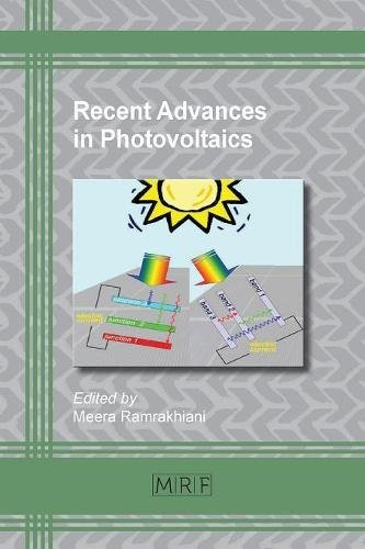 Recent Advances in Photovoltaics (Materials Research Foundations)
