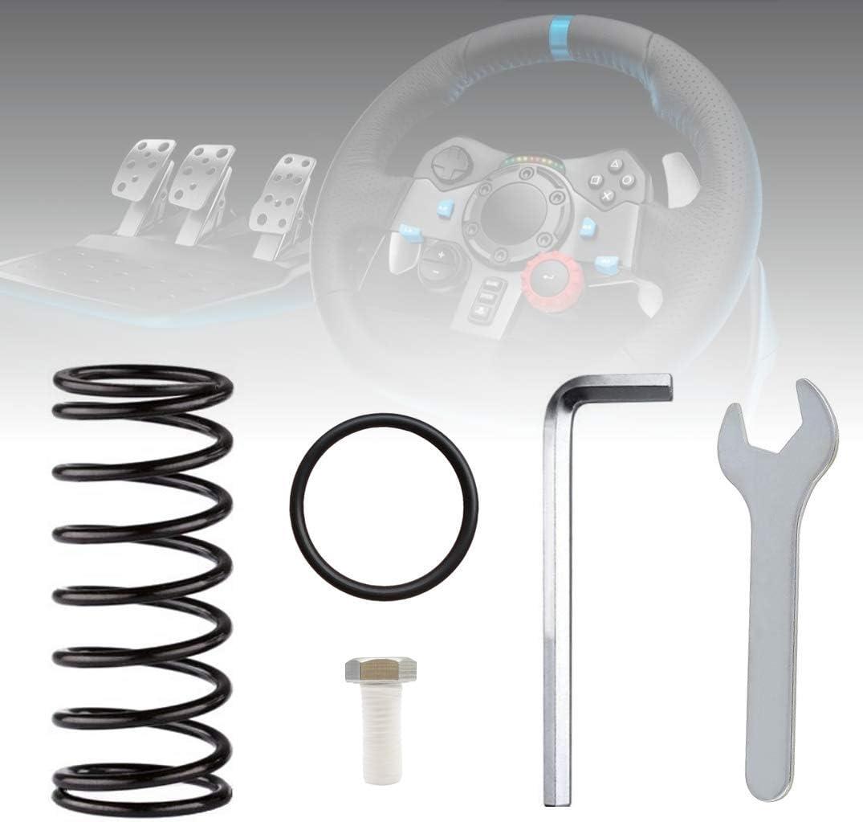 Glodorm Upgrade Mod Brake and Throttle Pedal Spring Kit for LOGITECH G27 G29 G920 Racing Wheel