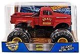 Hot Wheels Monster Jam Grave Digger Vehicle - Red