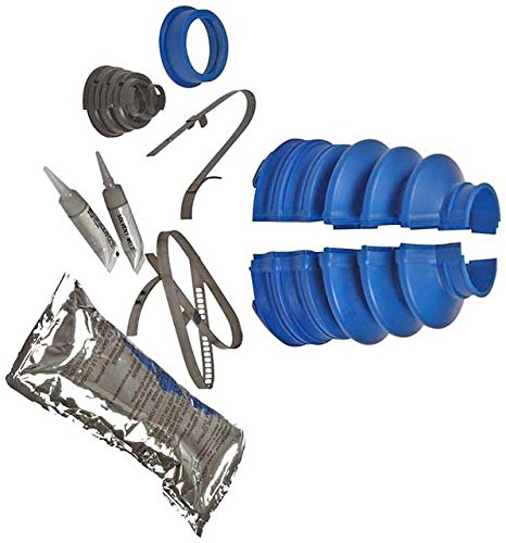 APDTY 725743 Outer CV Joint Solvent Welded Split Boot Kit (3. x 1.06 ()