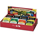 Bigelow Herbal Tea Variety Assortment Pack of 64 Tea Bags Featuring English Teatime, Constant Comment, Lemon Lift, Earl Grey, Green, Cozy Chamomile, Orange Spice, Mint Medley