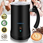Milk Frother, Automatic Milk Steamer with New Foam Density Feature, Electric Frother