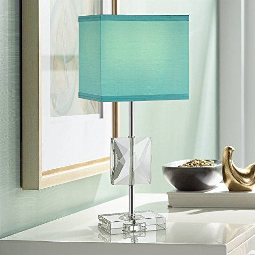 (Clara Modern Accent Table Lamp 18