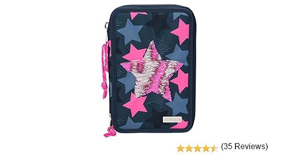 Depesche 10410 Estuche con 3 Compartimentos, TOPModel con Estrella de Lentejuelas, Multicolor: Amazon.es: Juguetes y juegos