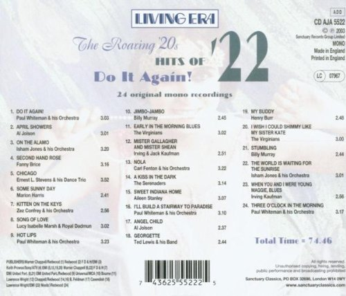 Roaring Twenties: Hits of 22 - Do It Again
