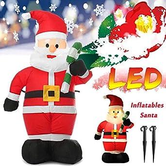 Amazon.com: Muerte de Navidad de 3.9 ft LED inflable de aire ...