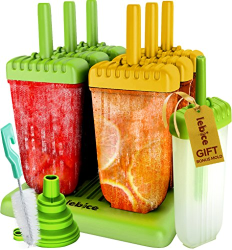 Popsicle Molds Set Silicone book product image