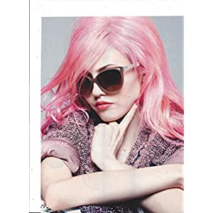 **PRINT AD** With Charlotte Free For 2014 Chanel Sunglasses **PRINT AD**
