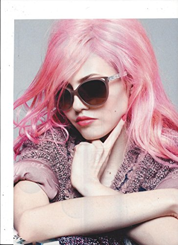 **PRINT AD** With Charlotte Free For 2014 Chanel Sunglasses **PRINT AD** (Sunglasses Chanel)