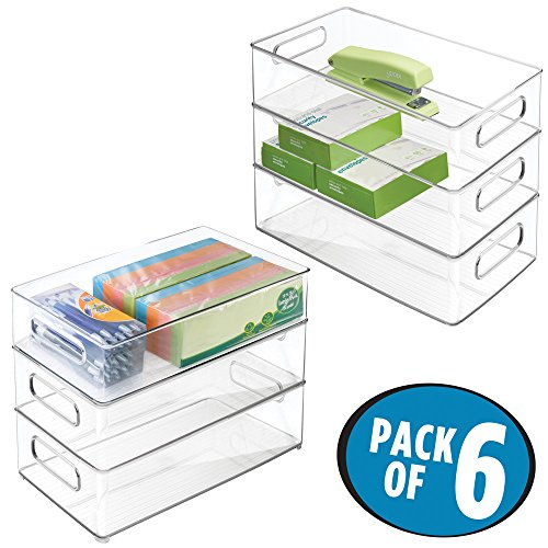 mDesign Supplies Cabinet Organizer Highlighters