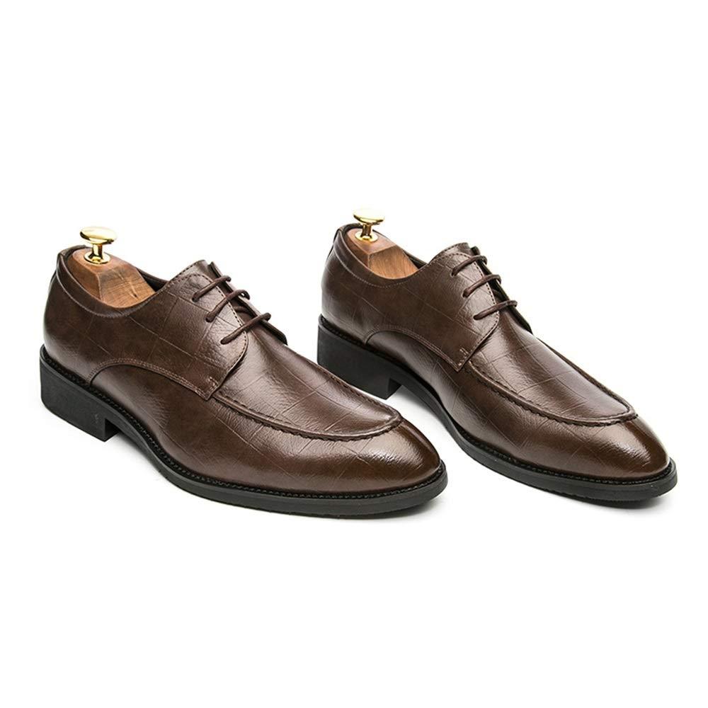 SRY-scarpe, Scarpe Scarpe Scarpe Stringate Uomo, Marrone (Marrone), 39.5 EU e08013