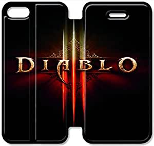 Diablo-14 iPhone 6/6S 4.7 Inch Leather Flip Case Protective Cover New Colorful