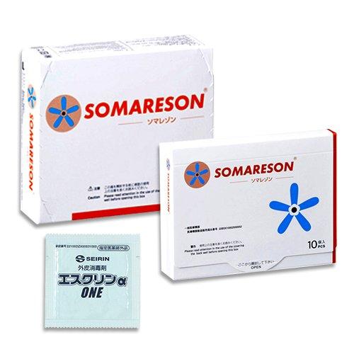 SOMARESON ソマレゾン Sサイズ(100本入) + Lサイズ(10本入) + エスクリンαONE(1包) セット   B06X94NCFX