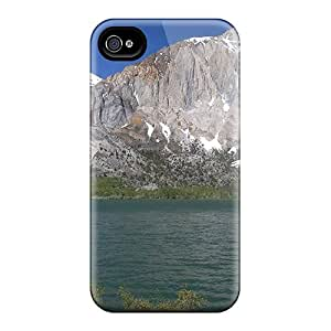 MooVers Sok9394gRub Case For Iphone 4/4s With Nice Merced River California Appearance